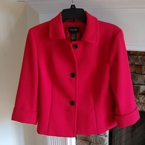 Focus 2000 red blazer jacket 8